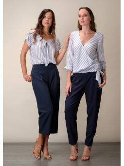 Pantalón botones lateral