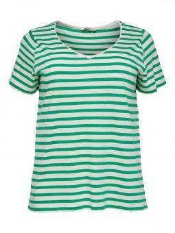 Camiseta de rayas, ONLY Carmakoma