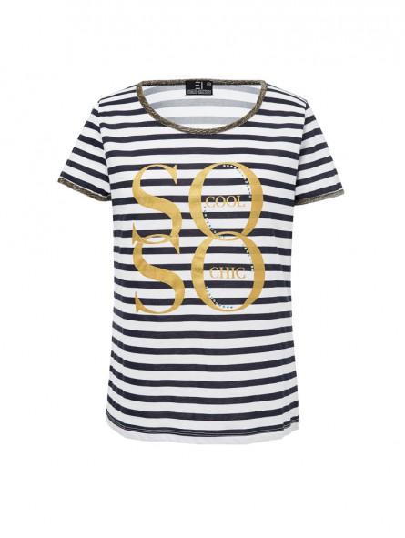 Camiseta rayas, M/C
