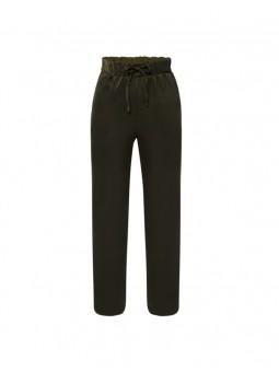 Pantalón goma cintura y lazo