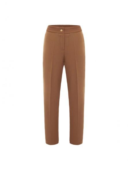 Pantalón liso con goma cintura