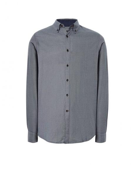 Camisa estampada c/coderas