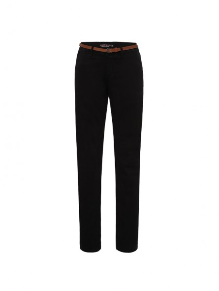 Pantalón corte chino c/cinturón, Koyote Jeans
