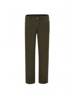 Pantalón elástico 5 bolsillos