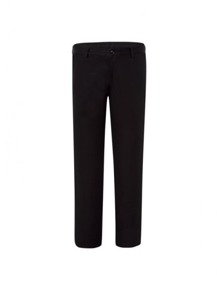 Pantalón corte chino, falso liso