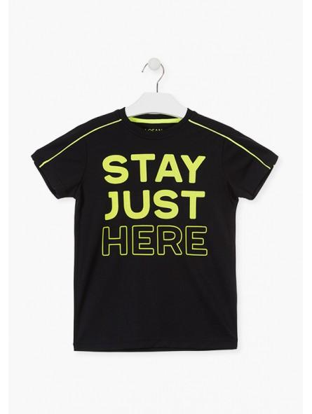 Camiseta mensaje, LOSAN