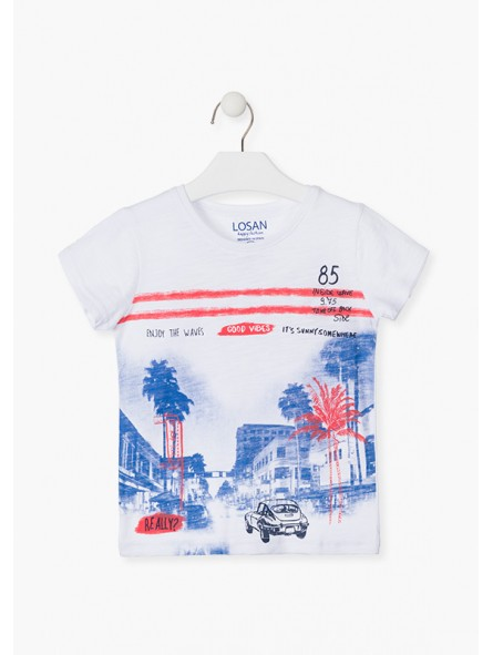 Camiseta dibujo, LOSAN