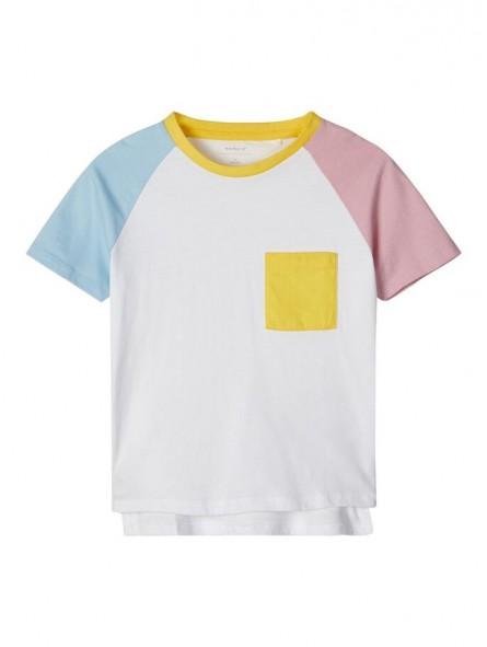Camiseta bicolor, NAME IT