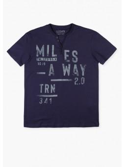 Camiseta texto, LOSAN
