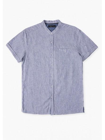Camisa a rayas de lino, LOSAN