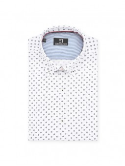 Camisa estampada M/L