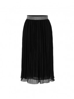 Falda plisada goma en cintura