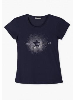 Camiseta estrella brillante, losan