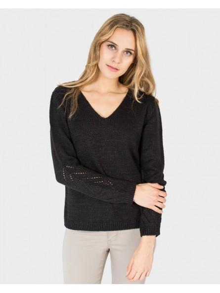 Jersey tricot manga larga