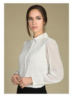 Camisa plumeti cuello clásico