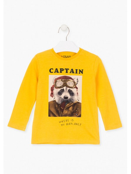 Camiseta mapache, Losan