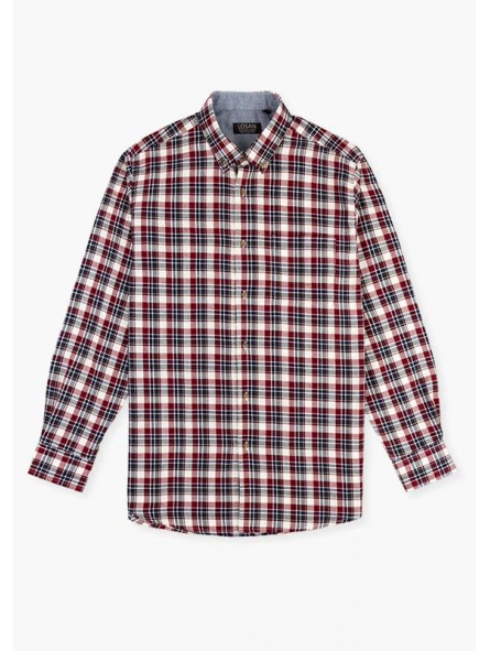 Camisa cuadros, LOSAN