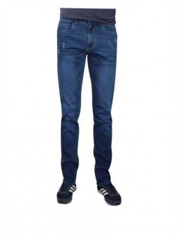 Pantalón elástico con rotos, Koyote Jeans