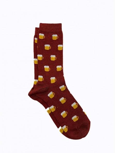 Calcetines hombre estampados