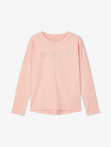 Camiseta mensaje brillo, Name It