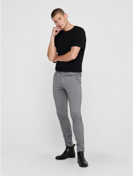 Pantalón chino liso, Only & Sons