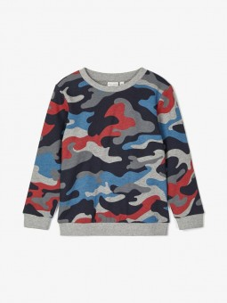 Sudadera camuflaje, Name It