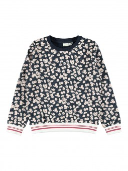 Sudadera estampado flores, Name It