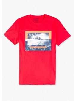 Camiseta gráfico playero, Losan