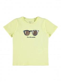 Camiseta gafas, Name It