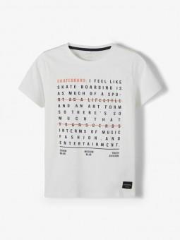 Camiseta letras, Name It