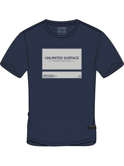 Camiseta estampado reflectante, Losan