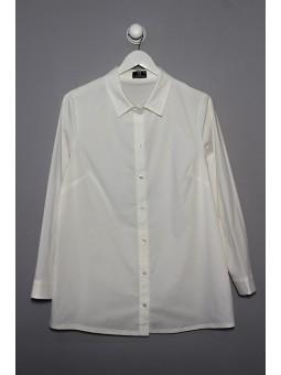 Camisa larga lisa manga larga