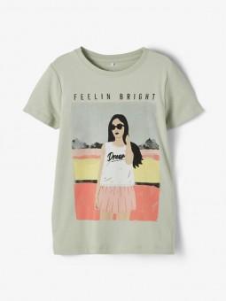 Camiseta Feelin Bright, Name It