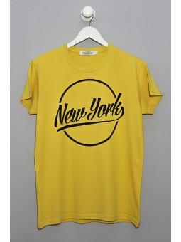 Camiseta New York manga corta