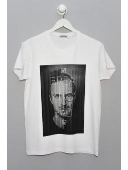 Camiseta Breaking Bad manga corta