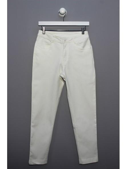 Pantalón loneta algodón elástico, YOULINE