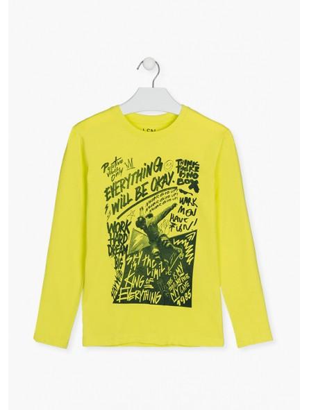 Camiseta gráfico m/l, Losan