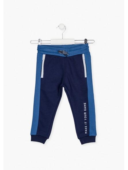 Pantalon deporte bandas laterales, Losan