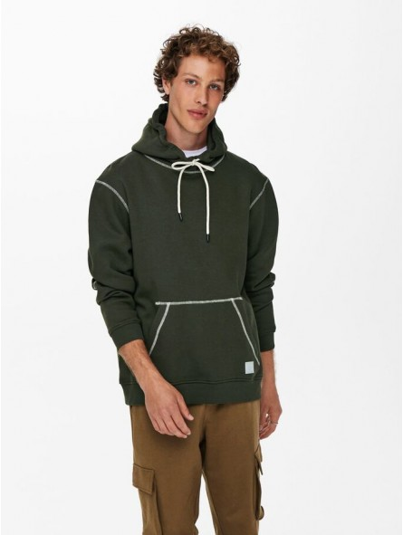 Sudadera con capucha, Only&Sons