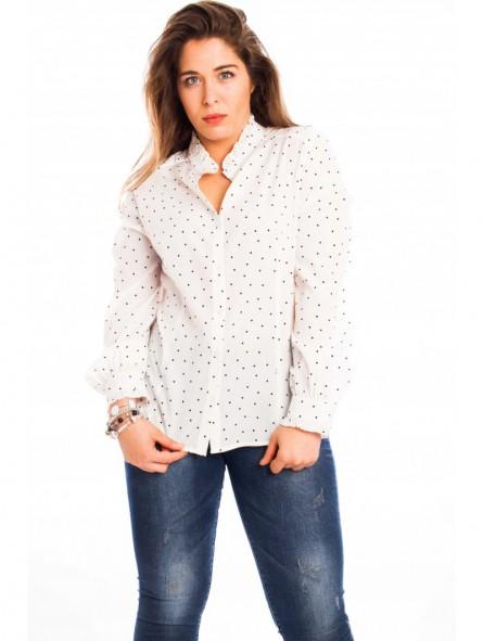 Camisa topos mujer