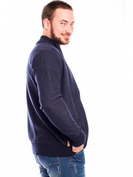Chaqueta punto tricot algodón
