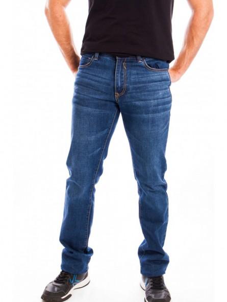 Pantalón vaquero elástico hombre
