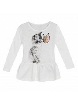 Camiseta gato, name it
